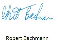 Robert Bachmann - Board Chair
